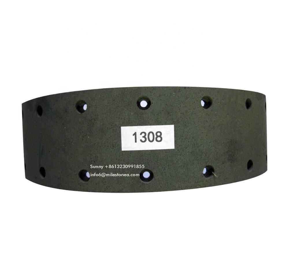 Truk Trailer Drum Brake Lining 1308