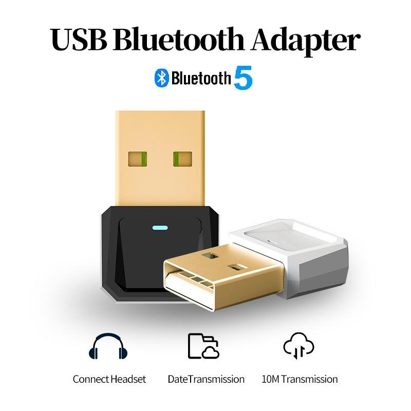 Bluetooth 5.0 Audio Receiver Transmitter Wireless Adapter Mini 3.5ミリメートルAUX Stereo Bluetooth Transmitter For TV PC Car