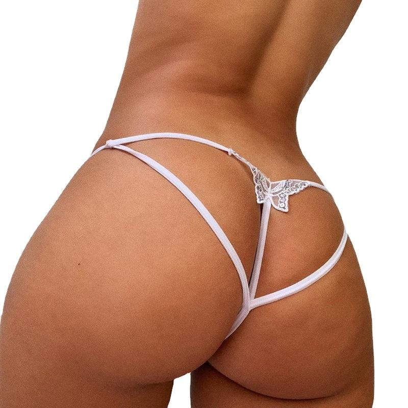 2021 sexy women panties hot sale new Panty Sexy Girls Butterfly Undergarment women's sexy lace butterfly thong underwear