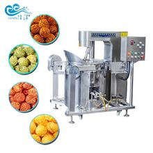 Big capacity automatic industrial caramel flavored gas / electric popcorn machine commercial popcorn making machine
