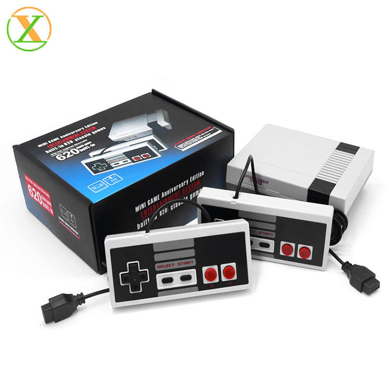 Mini Console built-in 620 Games Retro Handheld Game Player Family TV Video Game Console
