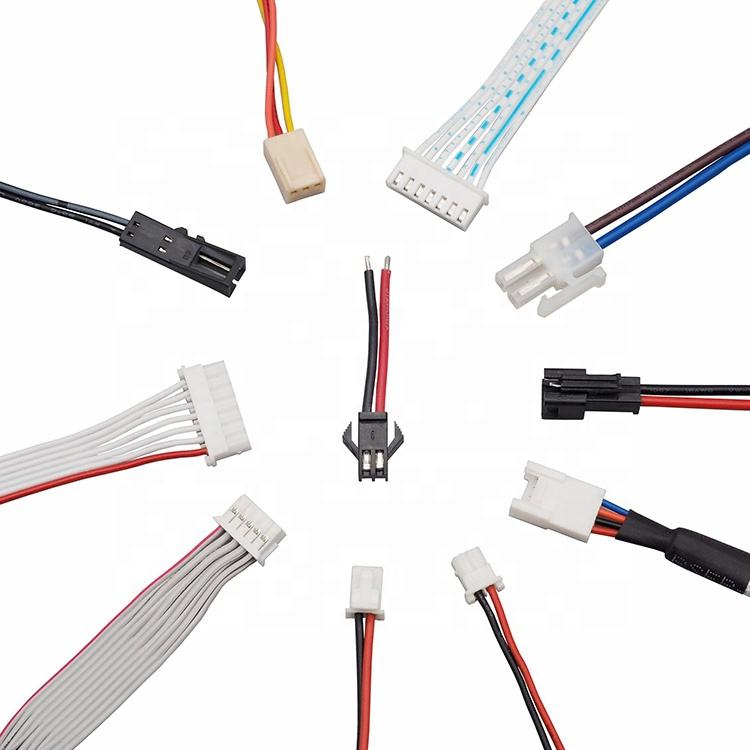 Jst Connector Assembly Molex Connector Manufacturer Custom Cable Assembly