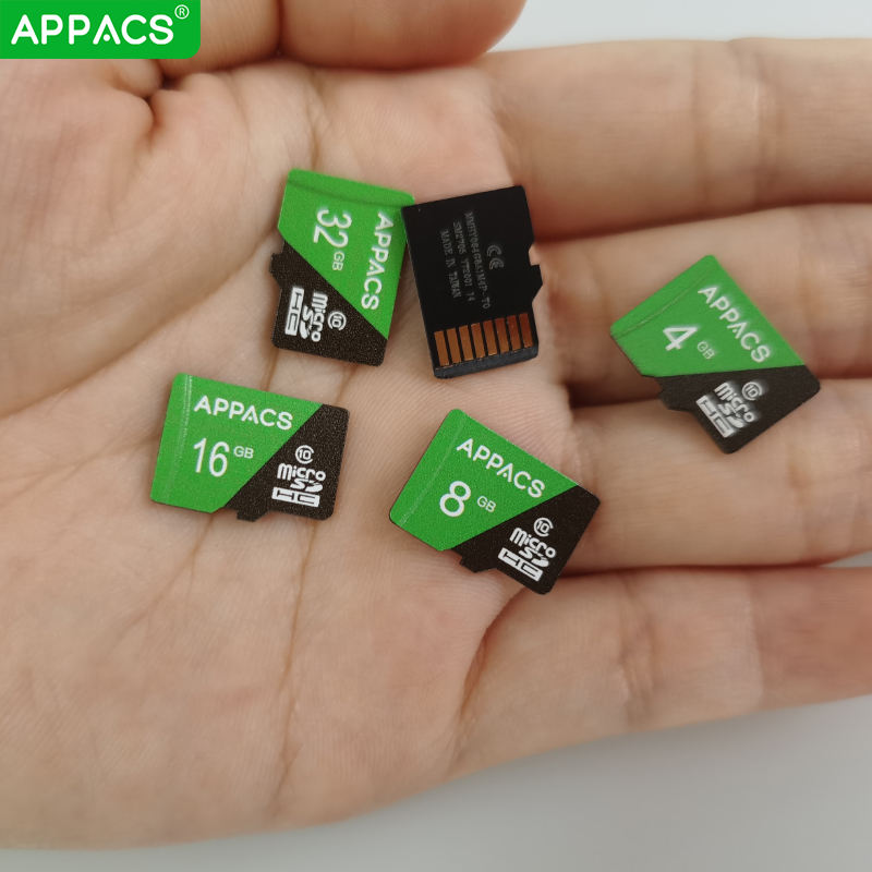 APPACS Flash Micro TF SD Cards Memory Card 4GB 8GB 16GB 32GB 64GB 128GB Available For Sale