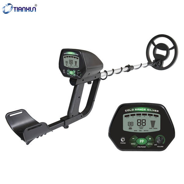 MD-4090 Adjustable Detectors with Larger Back-lit LCD Display for Adults Gold Detector Professional Gold Metal Detector