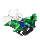 Low price China rice harvester machine mini harvester Combined small rice harvesting machine