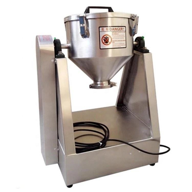 Dry powder mixer/ double cone mixing machine