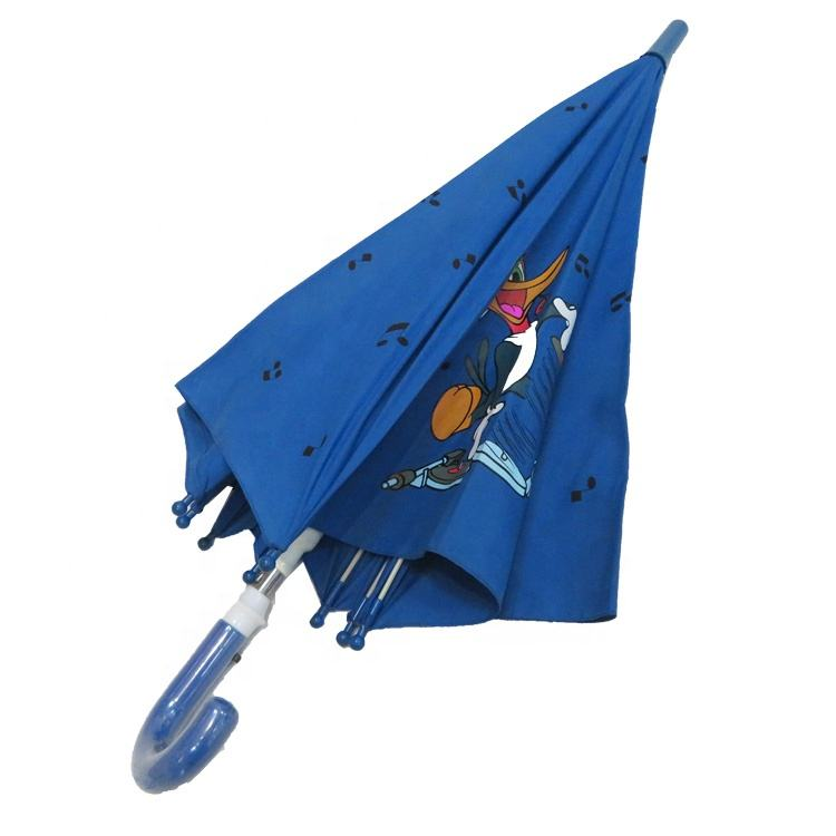 Animal Straight Windproof Customized Kids Character Umbrella For Kids