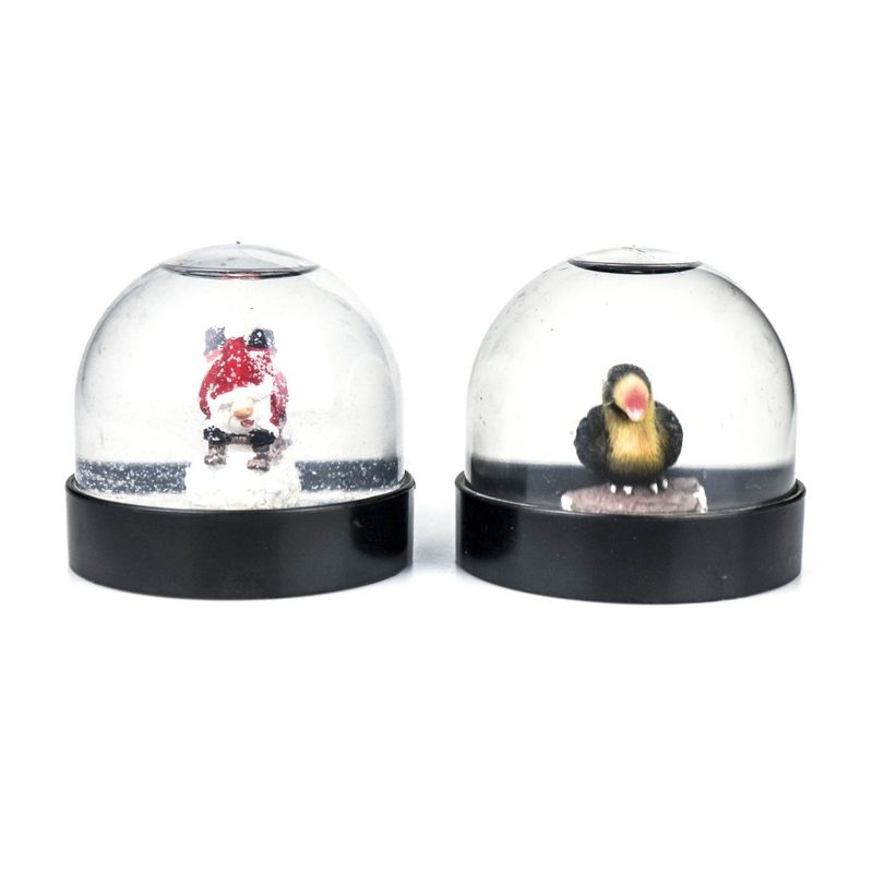 High Quality manufacture custom christmas Resin Glass crystal globe