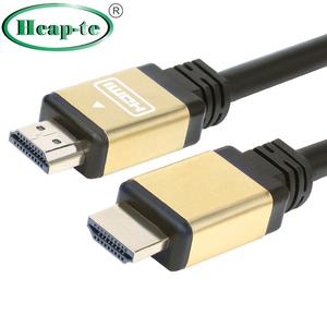 Fabbrica OEM 1m 1.5m 3m 5m 10m 15m 20m Cavo HDMI 2.0 supporto 4K 2160P,1080P,3D,Audio Return Ethernet - (Golden)
