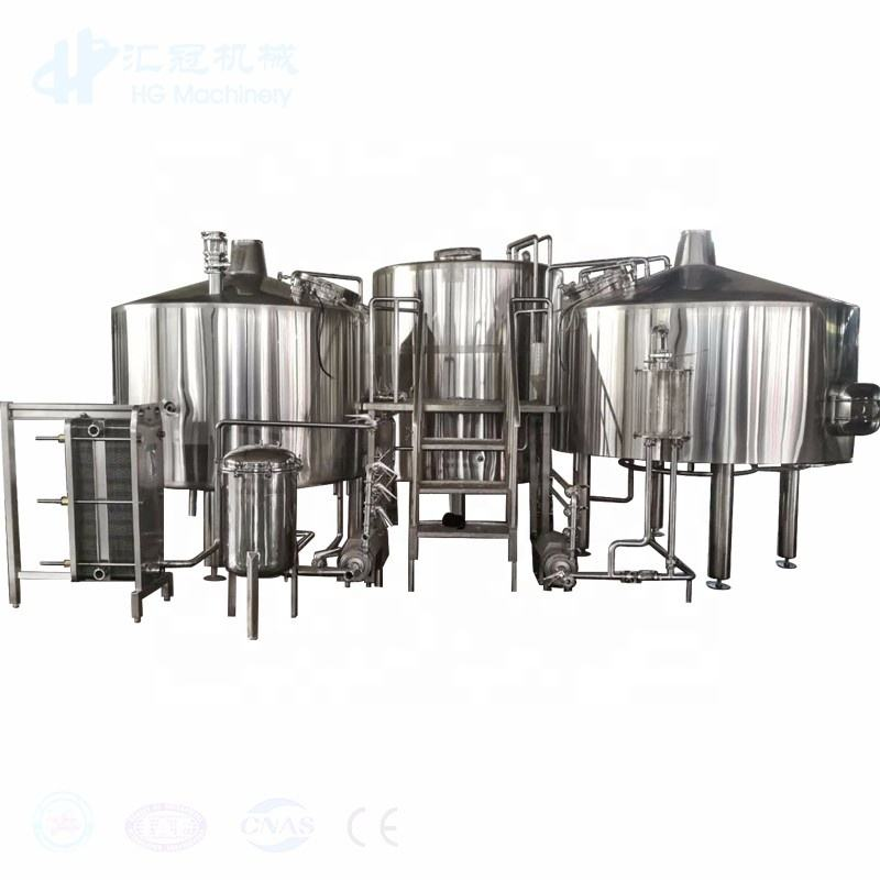 2000L stainless steel beer craft brewery equipment turnkey project for brew system