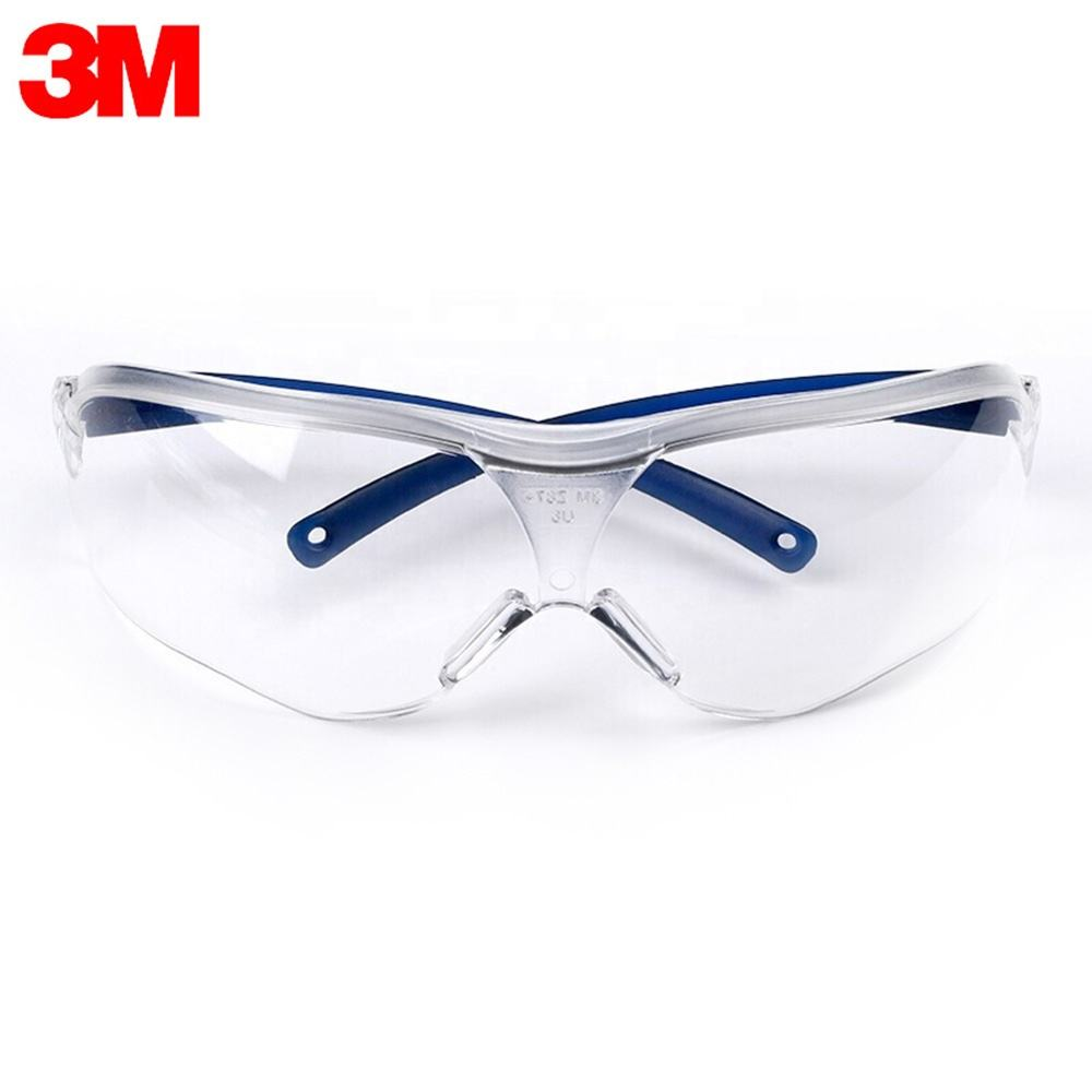 3M 10434 Safety Glasses Cycling Glasses Eyewear Anti Dust Windproof UV Protection Anti Fog Coating for Eye Protection