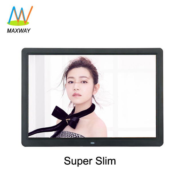 price of new model super slim 15 inch professional open lcd digital picture frame video player