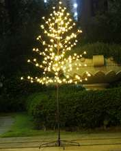 Bolylight LED Cherry Blossom Christmas Tree Light outdoor tree led flood light LED Home Decoration for Home/Bedroom/Party