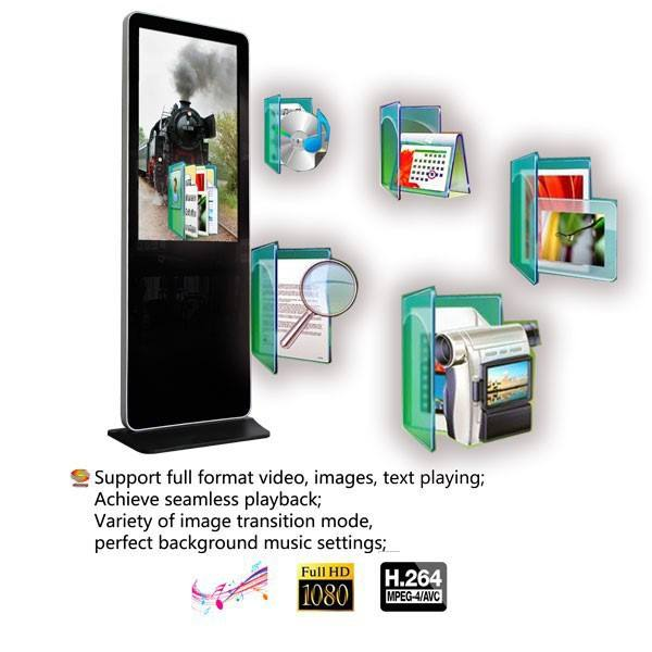 Hot Sale 3G 4G Floor Standing Digital Signage Informasi Display Digital Signage Informasi Display Digital Signage
