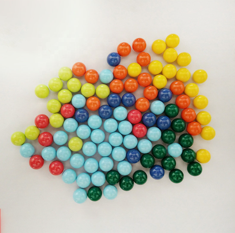 5mm 6mm 8mm 10mm 11mm blue green red black coloured carbon steel ball magnetic for pachinko toy machine