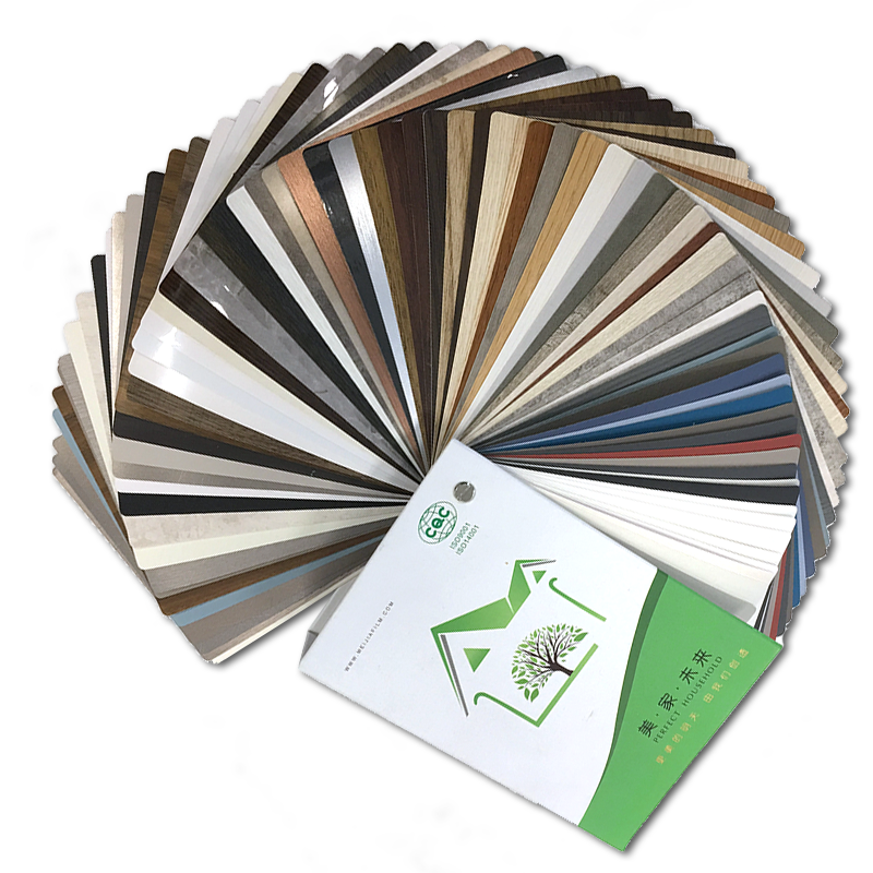 PVC decorative film with strong weather resistance and new designs pvc laminated sheet for furniture and cabinet