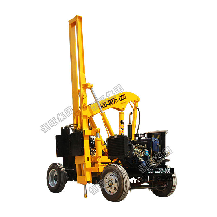 Hot sale Excavator Mounted Hydraulic guardrail Hammer/Vibratory Sheet Pile Driver