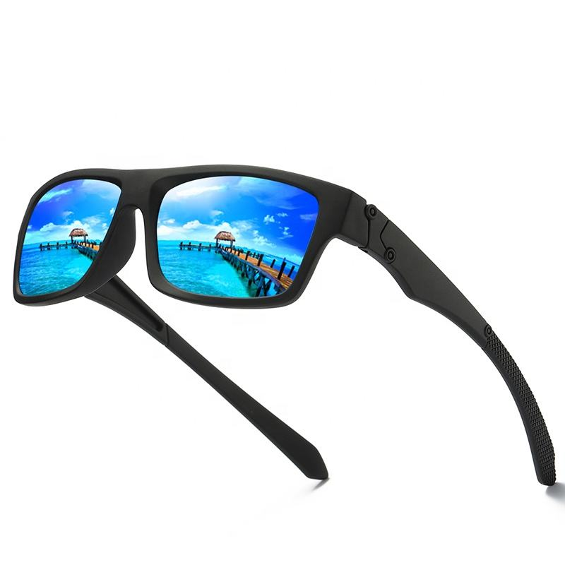 Custom Cheap UV400 Bike Cycling Polo Golf Beach Volley Ball Water dust-proof coated lens Sport Polarized Sunglasses