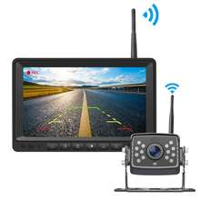 Digital Wireless Rv Vision Screen wifi Parking Car Rear View Kit monitor With backup Camera