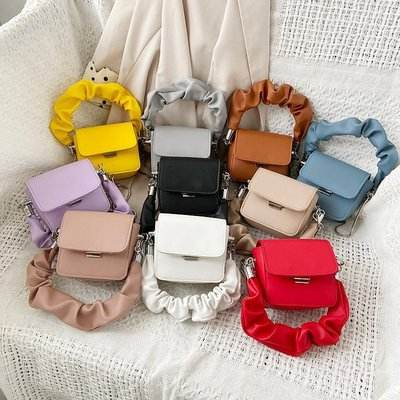 Mini handbags women's bags 2020 summer new fashion chain small purse with handles trendy lady pu shoulder square mini hand bags