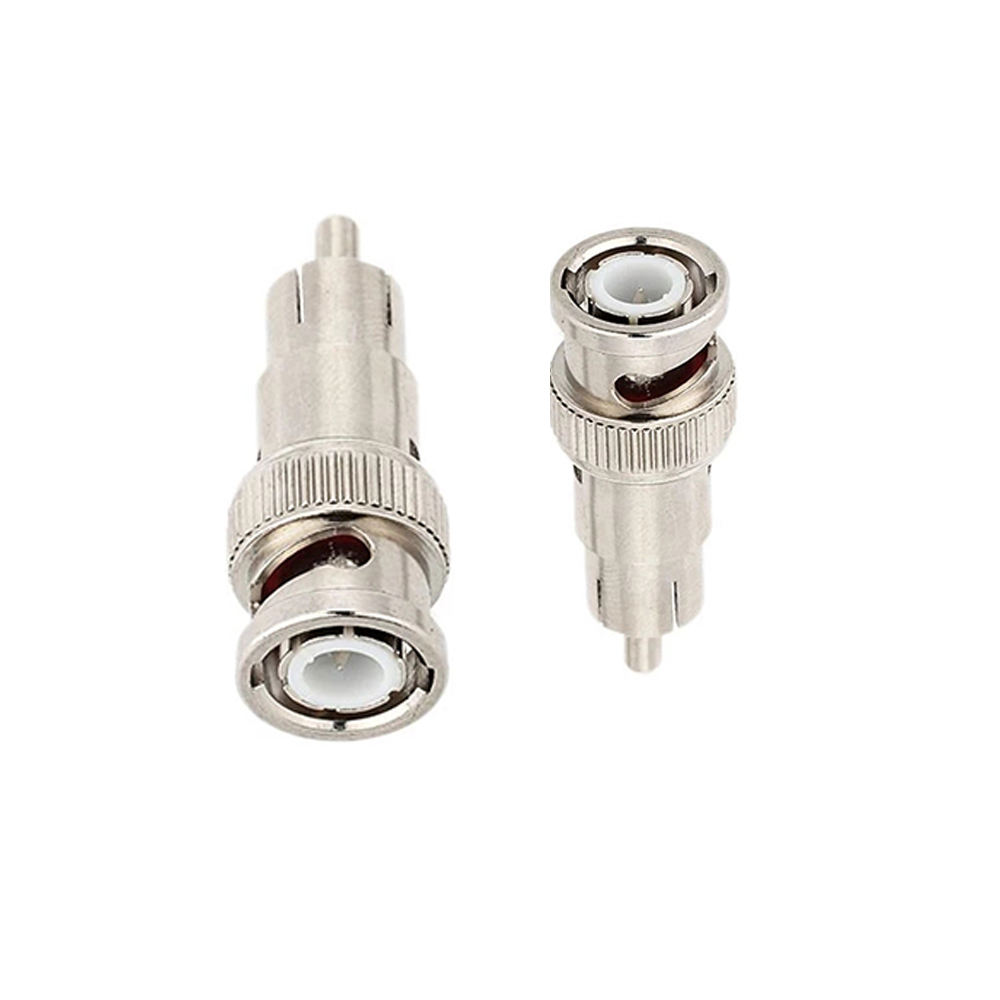 BNC Male Plug to RCA Male Plug RG59 Coax Cable Video 어댑터 커넥터