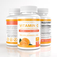 4-IN-1 VIT C Capsules/Pills Immunity Supplement Rose Hips, Zinc, Echinacea, Vitamin C Immune Booster