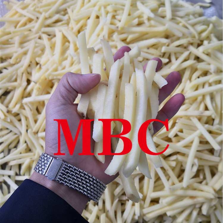 Potato french fries production line potato fries machinery