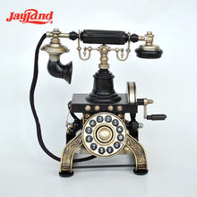 Old Telephone Model Home Decoration Pieces Luxury House Accessories Interior Decorative