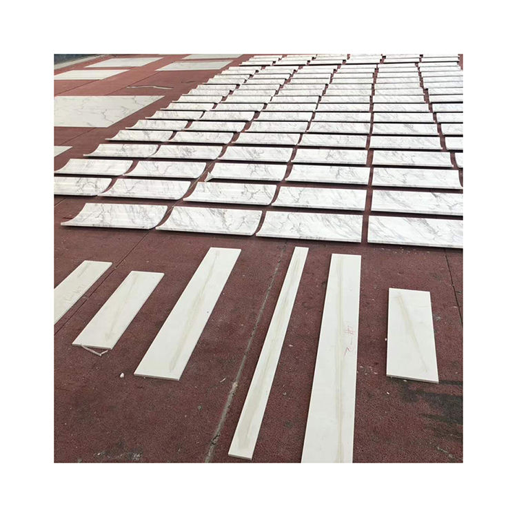 Good Price White Marble Interior Decor Tiles For Roman Column And Pillars