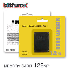 Bitfunx Video Game Accessories Wholesale 128MB Memory card for SONY PS2 PlayStation 2