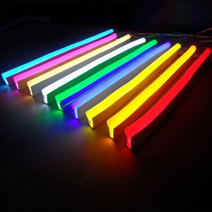 Woord Acryl Muur Up Tube Teken Brief Flex Star Flexibele Led Touw Rgb Kleur Strip Licht Full Bar Decoratie Custom neon Verlichting