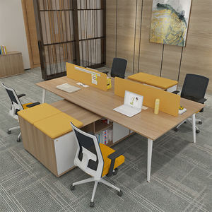Foshan Office furniture supplier fashion office table for 4 person workstations