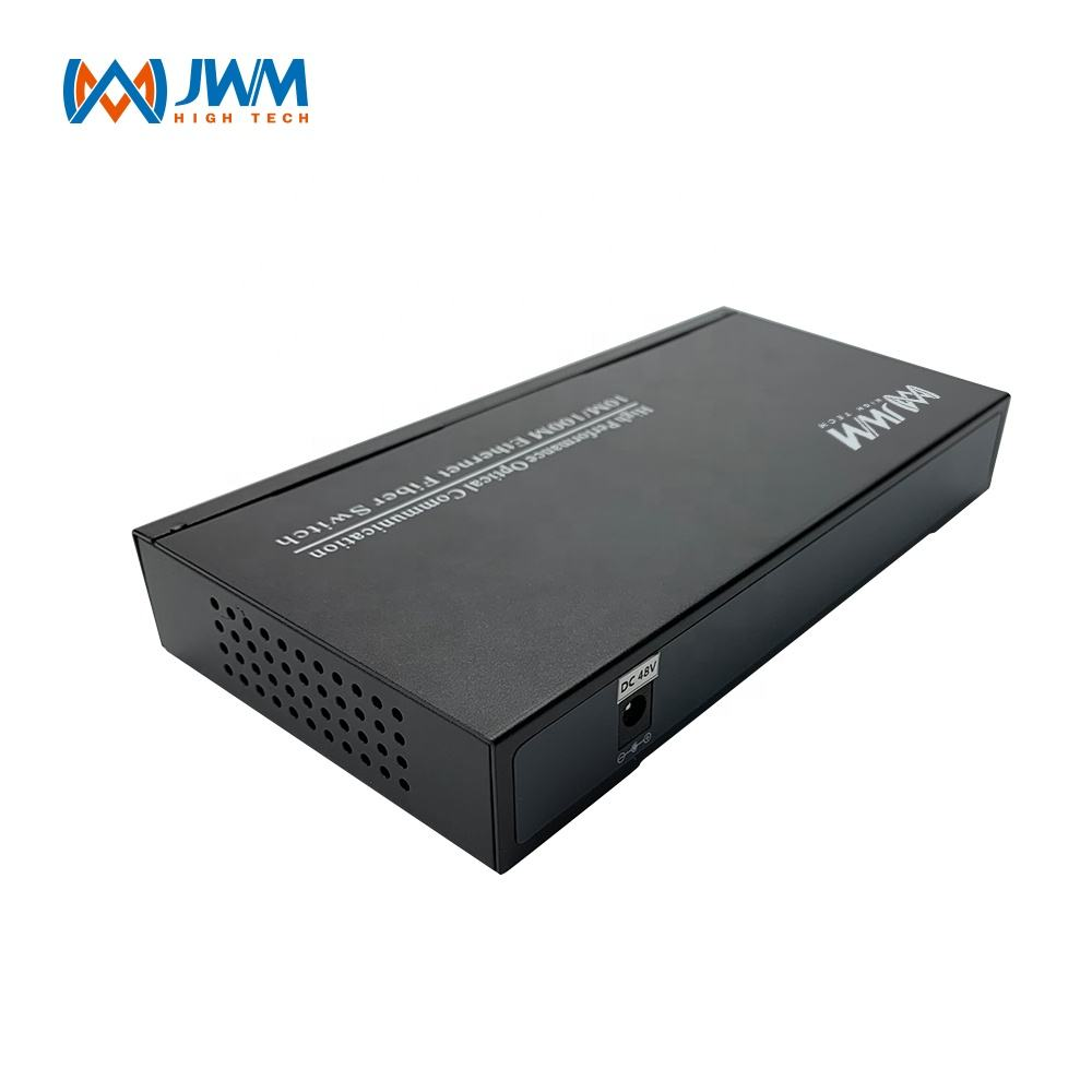 Fábrica OEM 10/100/1000Mbps portas fast Ethernet switch de rede gerenciada 9
