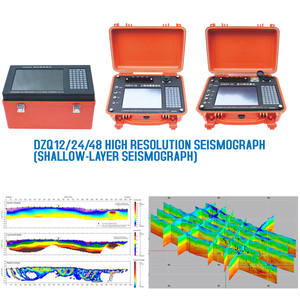Seismic Survey Equipment 48 channels REMI/MASW Seismograph for Reflection and Refraction Equipment