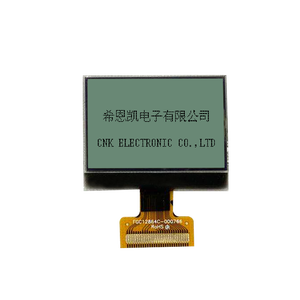 128*64 FSTN positive transflective 6 oclock graphic LCD monochrome display COG IC ST7567