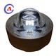outdoor decoration lighting traffic safety round pavement marker solar led tempered glass road stud
