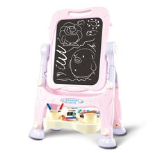 Doubled Magnetic Drawing Board Art Easel for Children Crayola Flip 2-Sided Easel Easel for Toddlers Kids Drawing Boards
