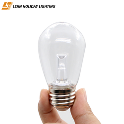 LJ 0.5W S14 LED bulb with e27 impact resistant for decoration light bulb