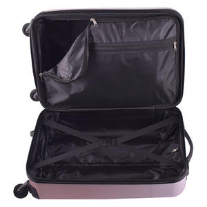 luggage set fashion travel pink luggage spinner abs suitcase trolleys for trip 12