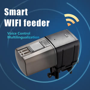 WIFI Controlled Automatic Fish Feeder with APP for Fish Tank Aquarium Pond Vacation Weekend Holiday