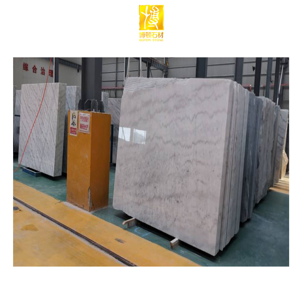 Chinese White Marble Cheap Cloudy White Marble Quarries White Slab Marble