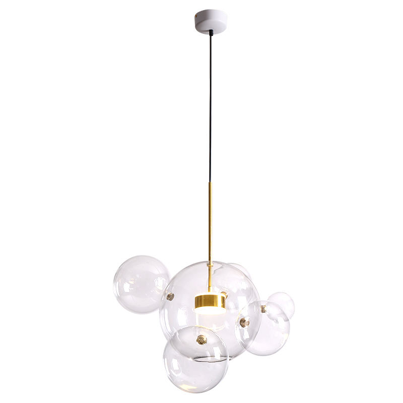 ST-0801-5+1 adjustable decorative modern custom design cold white led ceiling lamp 3d beauty led pendant lamp