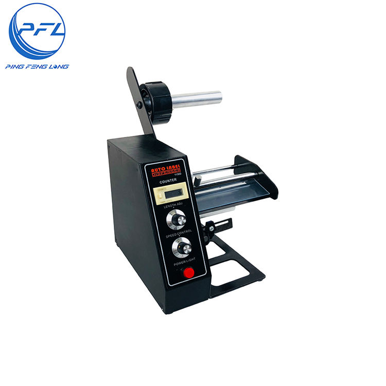 New Arrival Sticker Manual Automatic Acrylic Belt Label Stripper Dispenser Machine