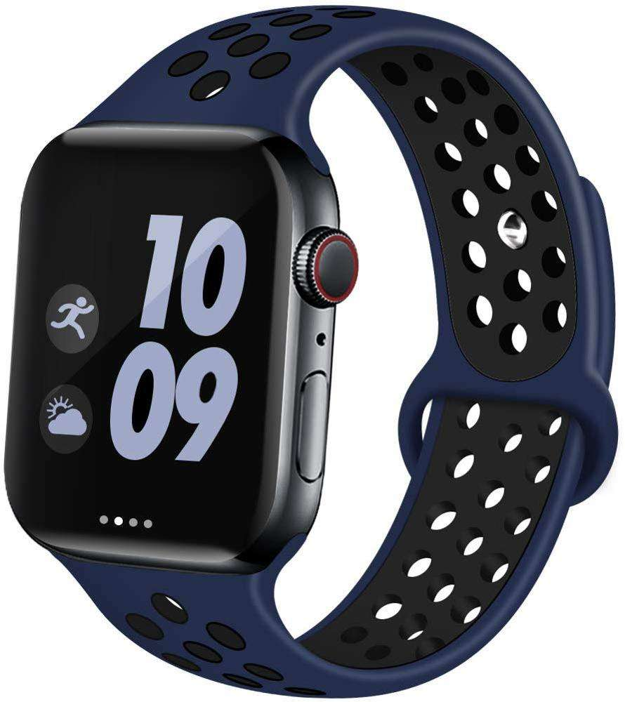 Smart Siliconen Horloge <span class=keywords><strong>Band</strong></span> Voor Apple Horloge <span class=keywords><strong>Band</strong></span> Strap