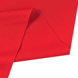 100% Polyester Bird's Eye/ Net/Mesh pique fabric for sportswear activewear lining clothes