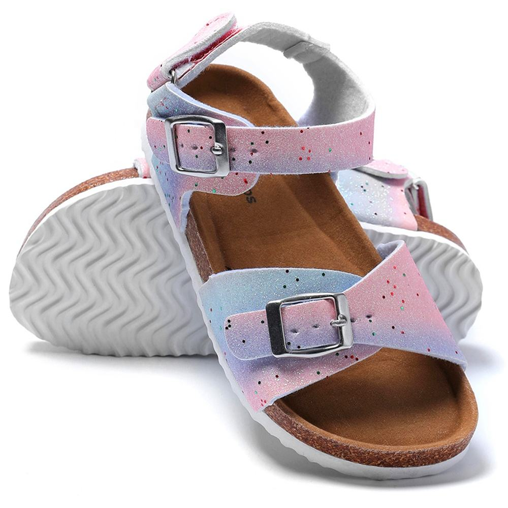 Sandales /à paillettes pour enfants//enfants//filles