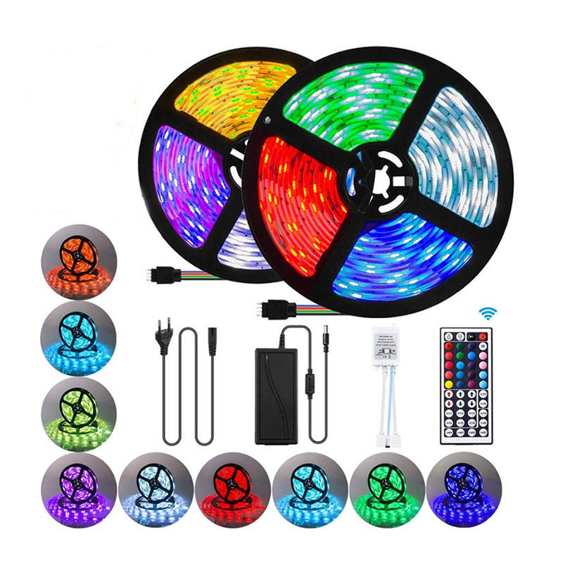 2021 Wholesale Smart Smd 5 10 15 20 Metres 5050 Waterproof Led Rgb Strip Light Led Light Strip
