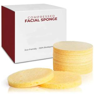 Eco-Friendly Facial Cleaning Compressed Cellulose Sponge