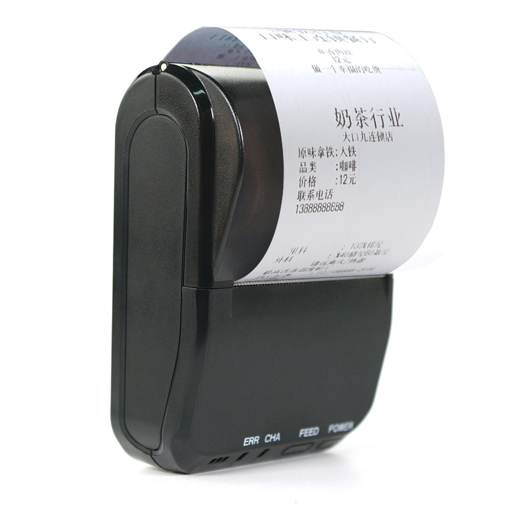 58S connect pos system mini portable printer 58mm thermal receipt printer