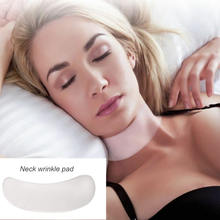 Wrinkle Removal Transparent Magic Patch Anti Aging Reusable Silicone Neck Pad